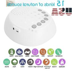Sound Spa Relax Machine White Noise Baby Easy Sleep Night Na