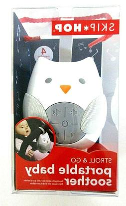 SKIP HOP Stroll & Go Portable Owl Baby Soother Stroller Toy