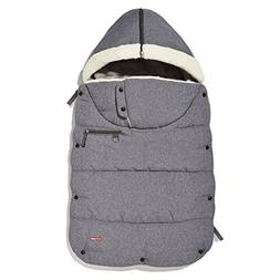 Skip Hop STROLL & GO three-season footmuff - Heather Grey