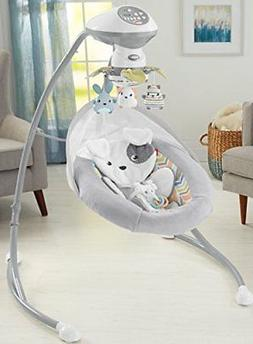Fisher-Price Sweet Snugapuppy Dreams Cradle n Swing Model:25