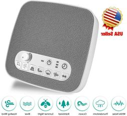 Sleep Sound Therapy Machine White Noise Ocean Wave Soothing