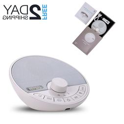 White Noise Generator Sound Machine Spa Easy Sleep Baby Rain