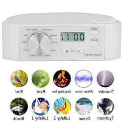 three sheep White Noise Machine 10 Nature Sound, Soothing So