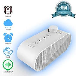 White Noise Machine for Sleeping, Sound Machine with Night L