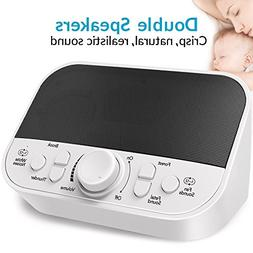 White Noise Machine, LATOW Sound Machine for Baby Sleeping,