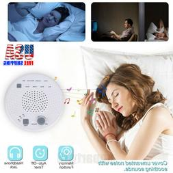 White Noise Machine Therapy Sleep 8 Relax Sounds Night Sleep