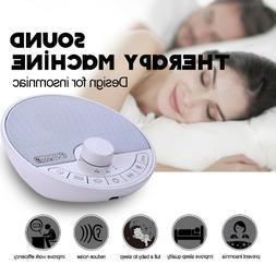 White Noise Machine Therapy Sleep Relaxation Night Sleeping