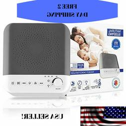 White Noise Machines with Led night light for baby sleeping,