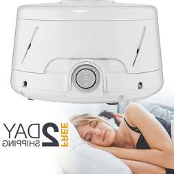 White Noise Natural Sleeping Soothing Sound Masker Machine R