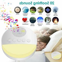 White Noise Nature Sound Machine Baby Sleeping Therapy Plays