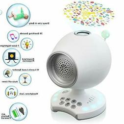 White Noise Sleep Sound Machine, Night Light Baby Soother Ce