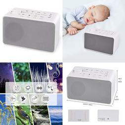 White Noise Sound Machine 8 Non Looping Soothing Sounds Baby