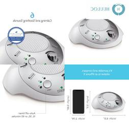 White Noise Sound Machine   Portable Sleep Therapy for Home,