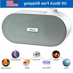 White Noise Sound Machine Sleep Soothing Noise Sound Therapy