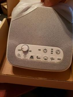 White Noise Sound Machine Sleep Therapy Plays 7 soothing sou